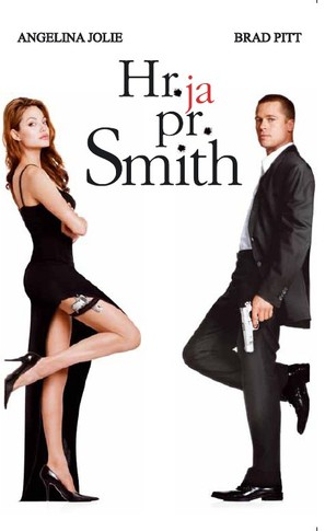 Mr. & Mrs. Smith - Estonian VHS movie cover (thumbnail)