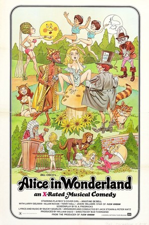 Alice in Wonderland: An X-Rated Musical Fantasy - Movie Poster (thumbnail)