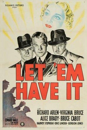 Let 'em Have It - Movie Poster (thumbnail)