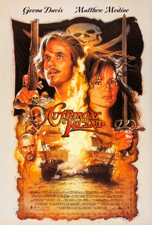 Cutthroat Island - Movie Poster (thumbnail)