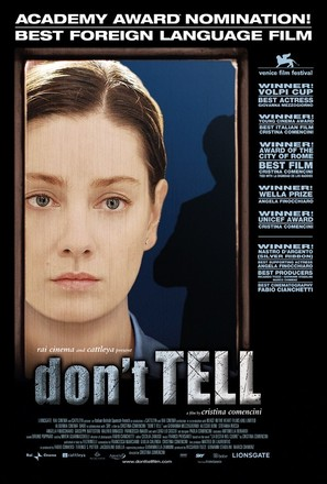 Don't Tell - Movie Poster (thumbnail)