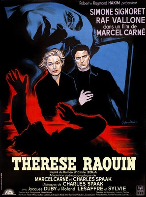 Thèrése Raquin - French Movie Poster (thumbnail)