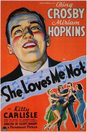 She Loves Me Not - Movie Poster (thumbnail)