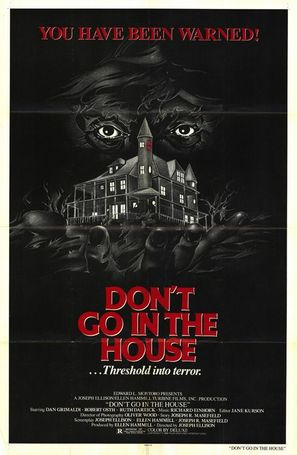 Don't Go in the House - Movie Poster (thumbnail)