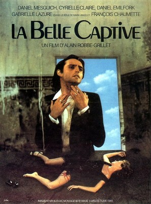 La belle captive - French Movie Poster (thumbnail)