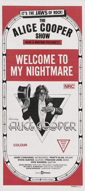 Alice Cooper: Welcome to My Nightmare - British Movie Poster (thumbnail)