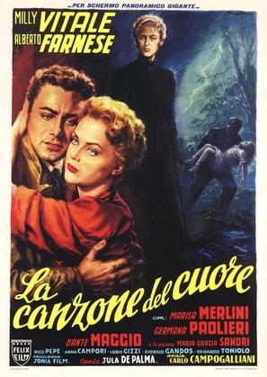 Canzone del cuore, La - Italian Movie Poster (thumbnail)