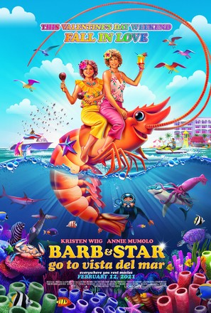Barb and Star Go to Vista Del Mar - Movie Poster (thumbnail)