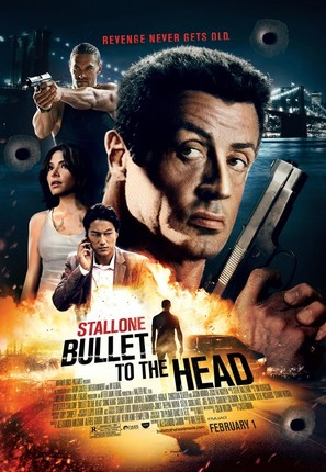 Bullet to the Head - Theatrical movie poster (thumbnail)