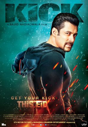 Kick - Indian Movie Poster (thumbnail)