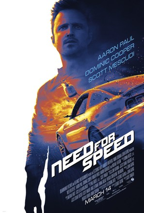 Need for Speed - Theatrical movie poster (thumbnail)