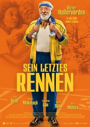 Sein letztes Rennen - German Movie Poster (thumbnail)