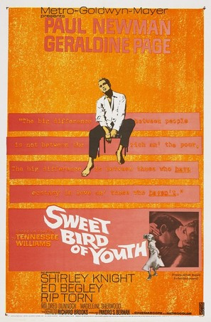 Sweet Bird of Youth - Movie Poster (thumbnail)