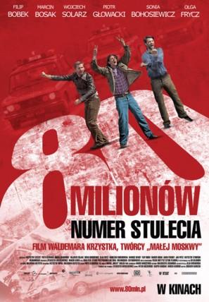 80 Milionów - Polish Movie Poster (thumbnail)