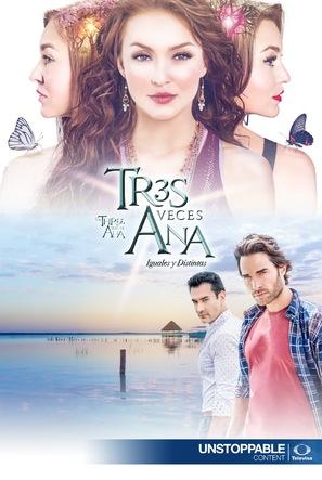 """Tres veces Ana"" - Mexican Movie Poster (thumbnail)"