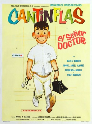 Señor doctor, El - Mexican Movie Poster (thumbnail)