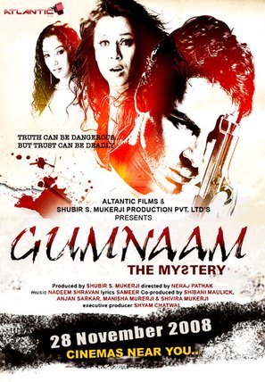 Gumnaam: The Mystery - Indian Movie Poster (thumbnail)
