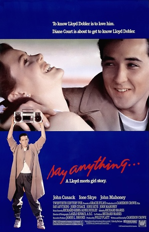 Say Anything... - Theatrical movie poster (thumbnail)