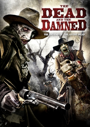 The Dead the Damned and the Darkness - DVD cover (thumbnail)