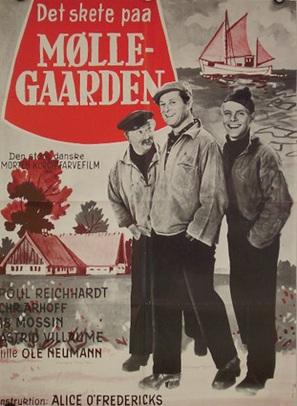 Det skete på Møllegården - Danish Movie Poster (thumbnail)