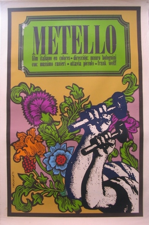 Metello - Cuban Movie Poster (thumbnail)