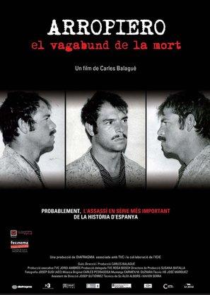 Arropiero, el vagabundo de la muerte - Andorran Movie Poster (thumbnail)