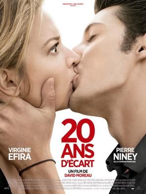 20 ans d'écart - French Movie Poster (thumbnail)