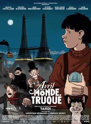 Avril et le monde truqué - French Movie Poster (thumbnail)