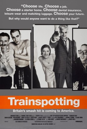 Trainspotting - Movie Poster (thumbnail)