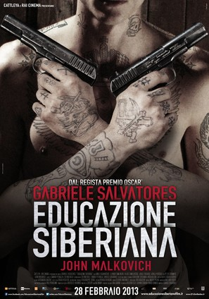 Educazione siberiana - Italian Movie Poster (thumbnail)