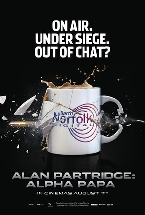 Alan Partridge: Alpha Papa - British Movie Poster (thumbnail)