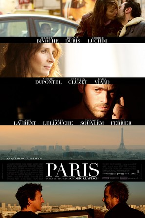Paris - French Movie Poster (thumbnail)