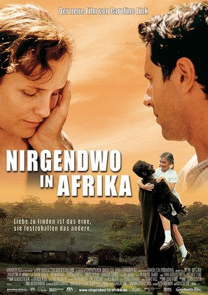 Nirgendwo in Afrika - German Movie Poster (thumbnail)