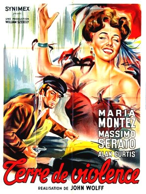 Amore e sangue - French Movie Poster (thumbnail)