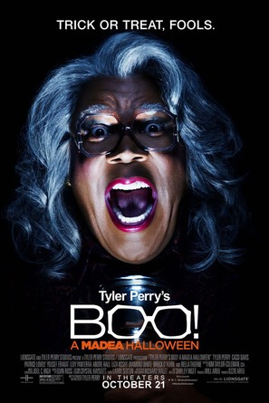 Boo! A Madea Halloween - Theatrical movie poster (thumbnail)