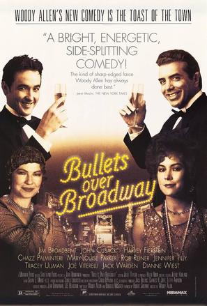 Bullets Over Broadway - Movie Poster (thumbnail)