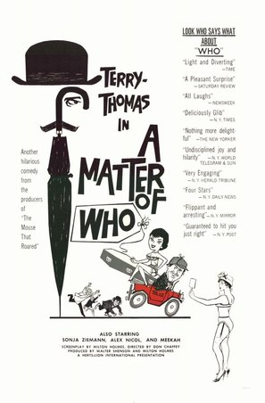 A Matter of WHO - Movie Poster (thumbnail)