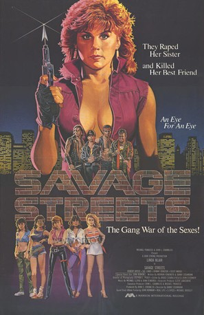 Savage Streets - Movie Poster (thumbnail)