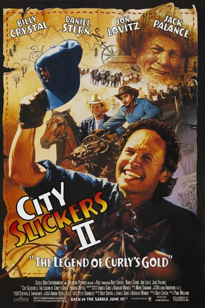 City Slickers II: The Legend of Curly's Gold - Movie Poster (thumbnail)