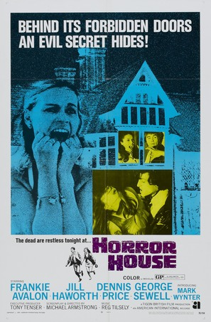 The Haunted House of Horror - Movie Poster (thumbnail)