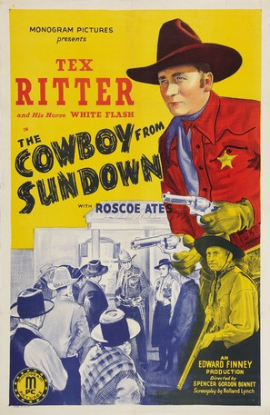The Cowboy from Sundown - Movie Poster (thumbnail)