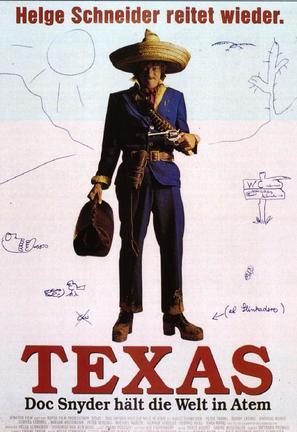 Texas - Doc Snyder hält die Welt in Atem - German Movie Poster (thumbnail)