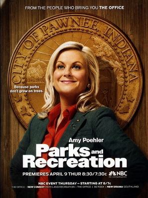 """Parks and Recreation"" - Movie Poster (thumbnail)"
