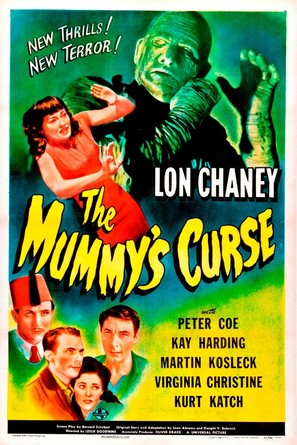 The Mummy's Curse - Movie Poster (thumbnail)