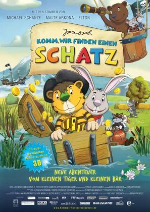 Komm, wir finden einen Schatz - German Movie Poster (thumbnail)