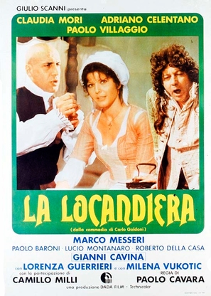 La locandiera - Italian Movie Poster (thumbnail)
