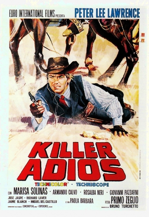 Killer, adios - Italian Movie Poster (thumbnail)