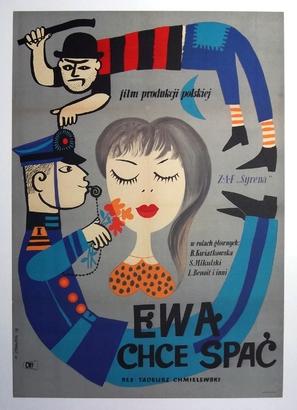 Ewa chce spac - Polish Movie Poster (thumbnail)