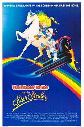 Rainbow Brite and the Star Stealer - Movie Poster (thumbnail)
