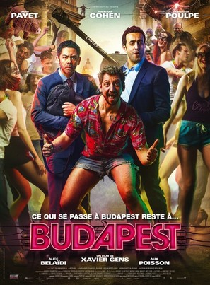 Budapest - French Movie Poster (thumbnail)